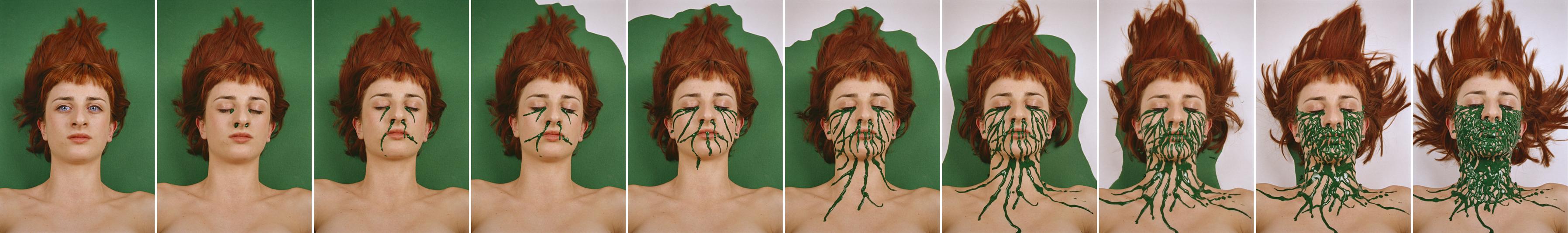 Absorción, 2001. C-print
