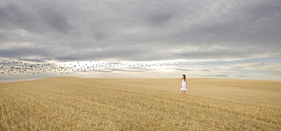 En el silencio VI, 2010. C-print