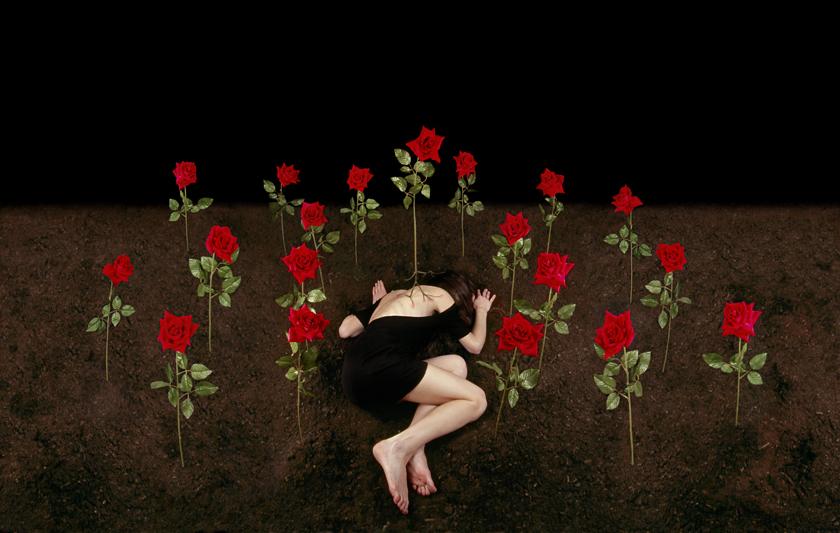 Un lugar secreto VI, 2008. C-print